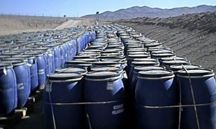 Región de Antofagasta acumula 120 mil toneladas toneladas de desechos peligrosos de mineras al año