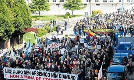 Celebran cancelación de mina de oro en Corcoesto y esperan que sea definitiva