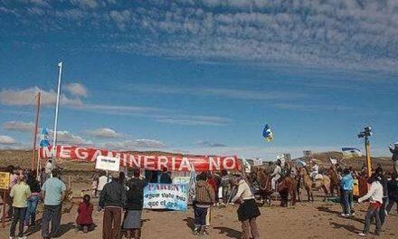 22 de marzo, día mundial del agua con cabalgata en la meseta del Chubut
