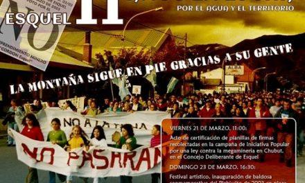 11º aniversario del señero plebiscito de Esquel y cierre de «La Otra Campaña» de Iniciativa Popular