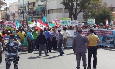 Manifestaron pidiendo destitución de director de Minería por su apoyo a explotación de Loma Miranda