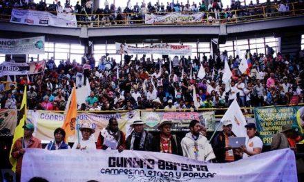 Declaración Política Cumbre Agraria Campesina, Étnica y Popular