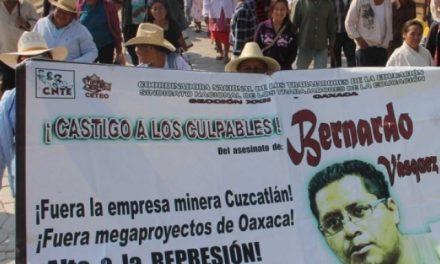 Protesta pacífica frente a mina Cuzcatlán es retenida por civiles con disparos al aire