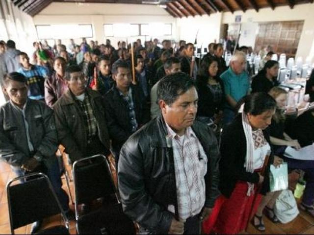 Se hizo auciencia por demanda de pueblo maya mam vs. Minera Entre Mares