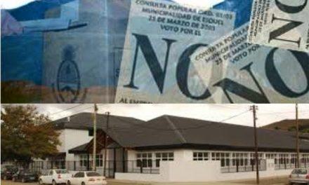 """Escuela de Esquel llevará el nombre """"23 de marzo"""" por el pronunciamiento por el NO A LA MINA"""