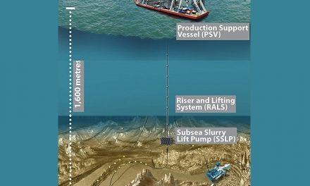 Primera mina de oro en el fondo del mar