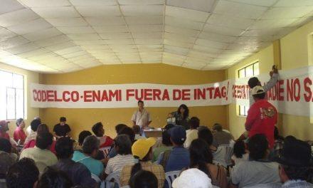 Apelan prisión de opositor a minería en Íntag