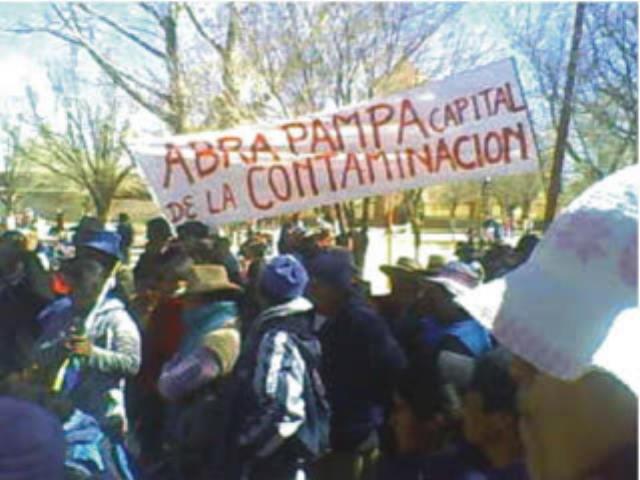 Por decisión política los pobladores de Abra Pampa siguen con plomo en su sangre
