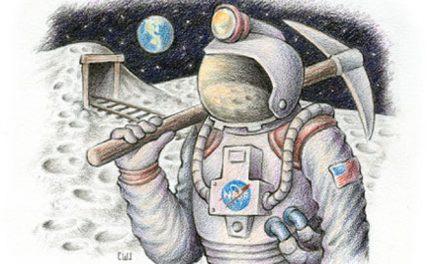 Minería en la Luna