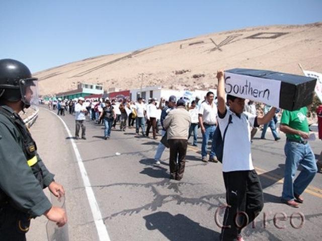 Minera Souther en Tacna ¿Otros 50 años más contaminando?