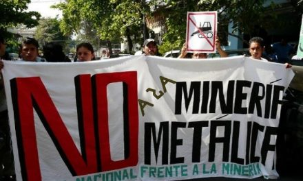 Mesa Frente a la Minería Metálica expectante con la llegada del nuevo gobierno