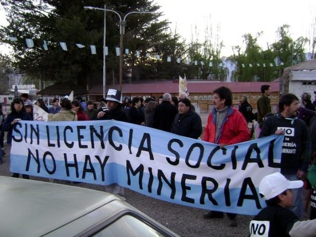 Denunciamos el avance de la Megaminería ilegal en Las Cuevas (Mendoza) y en la quebrada de Alipán (La Rioja)