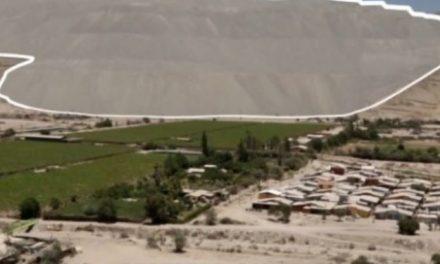 Población de Tierra Amarilla contaminada por minera Candelaria