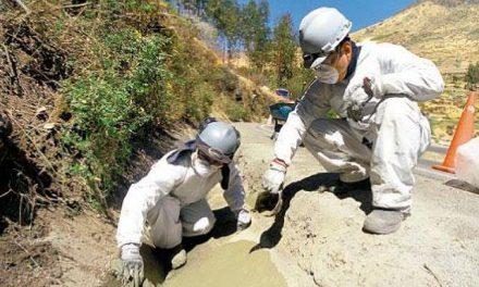 Detectan contaminación minera en una cuenca de Cajamarca