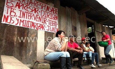 Ambiente tenso por presencia policial respaldando a minera en Junín