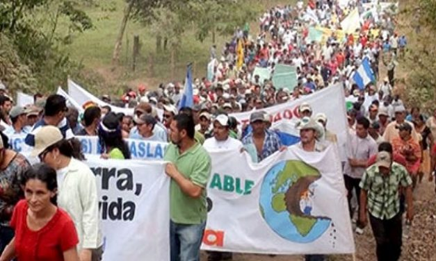Marcharon contra la minería en Matagalpa