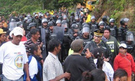 Minera estatal entra a Intag y Pacto con la fuerza policial
