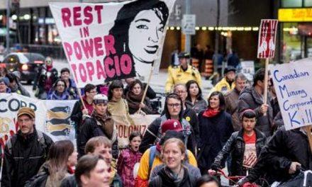 Por violencia vinculada a Tahoe Resources piden que fondo de pensiones canadiense retire inversiones