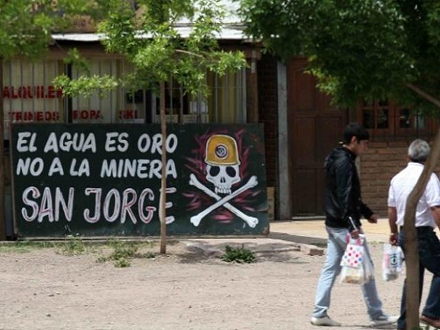 Asamblea mendocina repudia una posible reactivación del proyecto San Jorge