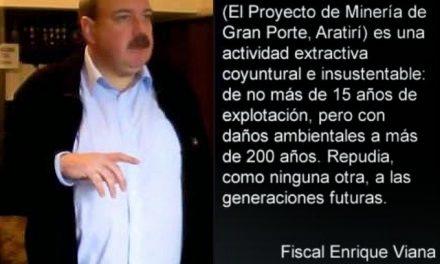 Suprema Corte uruguaya tramitará recurso de inconstitucionalidad de la ley de minería