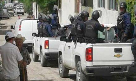 Comuneros de Huehuetlán fueron intimidados por policías por oponerse a minería