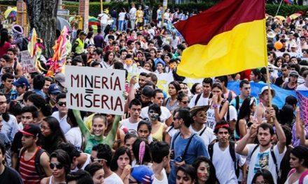 Grandes movilizaciones contra la megaminería en Tolima y Norte de Santander