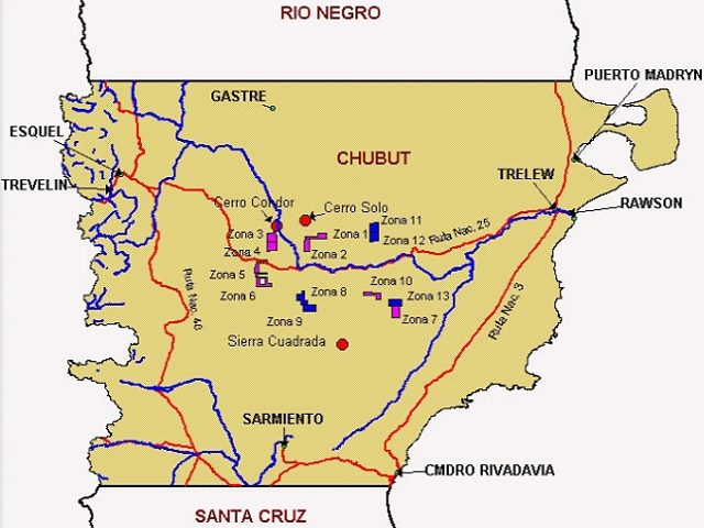 Hay una docena de proyectos de uranio avanzados en Chubut