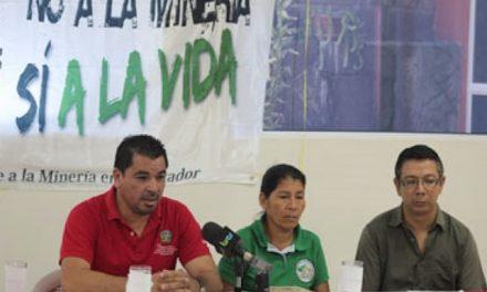 Exigen en El Salvador la pronta aprobación de ley contra la minería