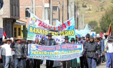 Gobierno peruano reportó 41 conflictos en junio, la mayoría en sector minero