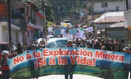 Luchas ante la mega minería en México y Guatemala