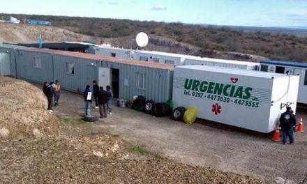 Minera con empleados de otras provincias y en situación precaria