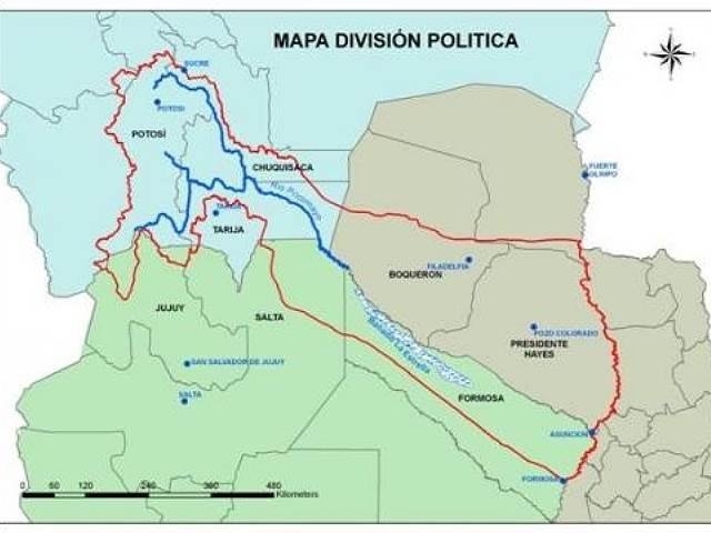 Cancillería paraguaya analiza situación tras derrame minero en el Pilcomayo
