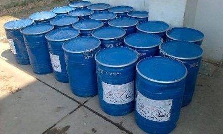 Denuncian trasporte inadecuado de cianuro en Gamarra