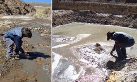 Minera china también contamina cuenca del Pilcomayo
