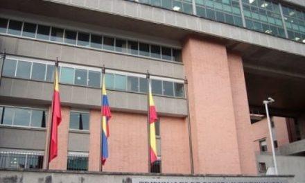 Plantón frente al Tribunal Administrativo de Cundinamarca para exigir moratoria minera