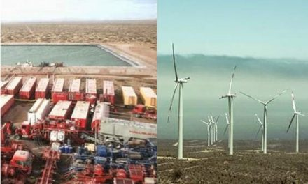Energía del fracking Vs energía Eólica