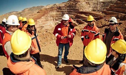 La minería con poco empleo y en caída