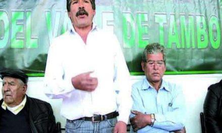 Agricultores y molineros de Cocachacra se oponen a proyecto minero Tía María