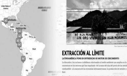 Presentan reportaje multimedia ¨Extracción al Límite¨