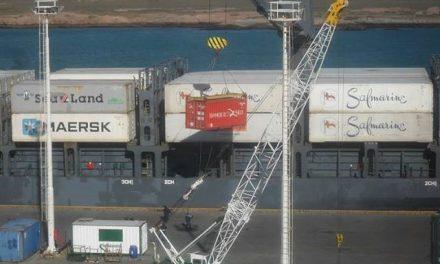 Arribó a Puerto Deseado otro buque con cianuro desde Australia