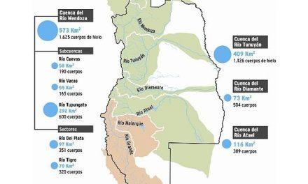 Avanza el censo de glaciares y ya se han detectado 1.171 km2 en Mendoza