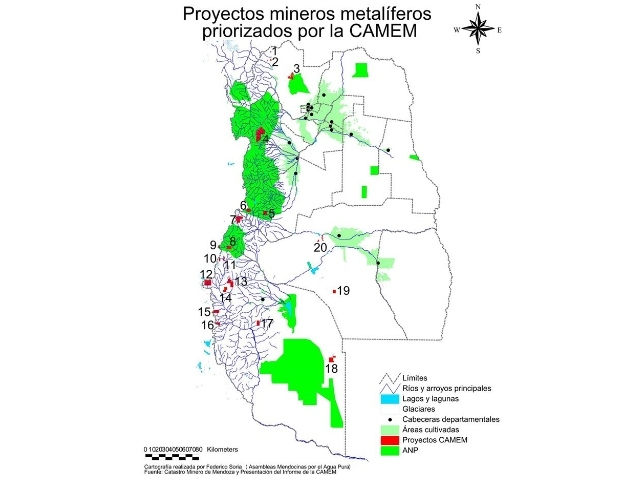 Empresarios mineros de Mendoza y su informe plagado de inexactitudes, falsedad ideológica y apología del delito