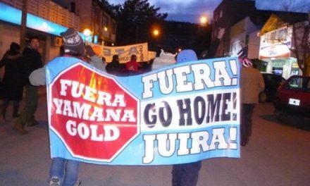 Minas Argentinas-Yamana Gold es clandestina en Esquel y deberá irse