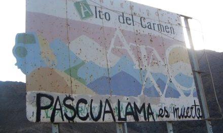 Estudiantes unversitarios chilenos apoyan a comunidades que rechazan a Pascua Lama