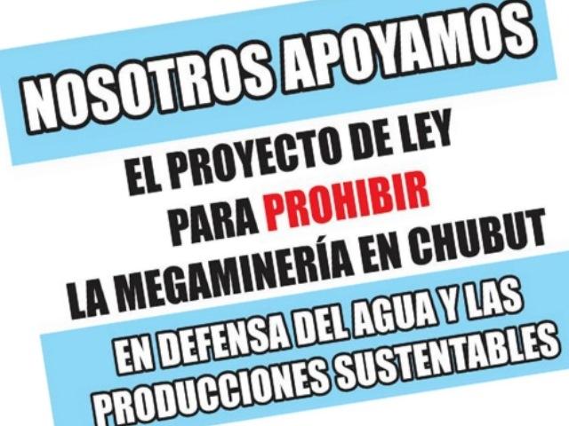 Asambleas presentaron 26 proclamas y otros apoyos contra la megaminería en Chubut