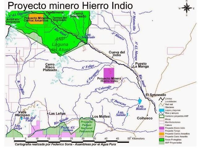 Hierro Indio: un proyecto minero cargado de dudas en Menzoza