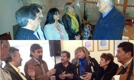 Fotos de los diputados provinciales de Chubut a fines de agosto en San Juan