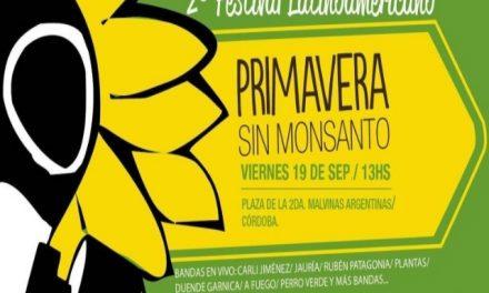 """Se viene la 2da """"Primavera sin Monsanto"""""""