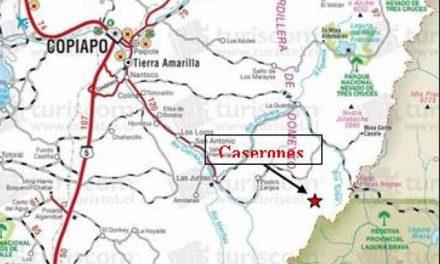 Minera Caserones estudia traer agua desde Argentina