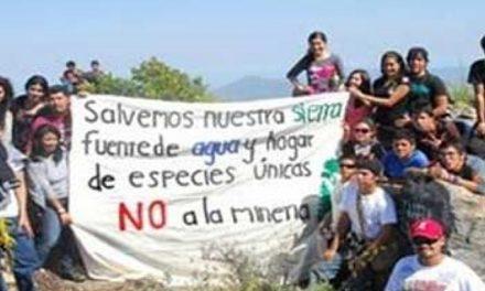 Más de 60 ONG firman pacto contra proyecto minero en BCS